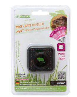 Odpuzovač myší na 230V - balenie v blitri.