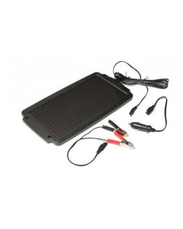 Solárny dobíjač akumulátorov pre benzínové motory s výkonom 2,4Wp.