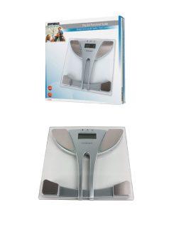 Osobná váha z tvrdeného skla z meraním tuku v tele metódou BIA.