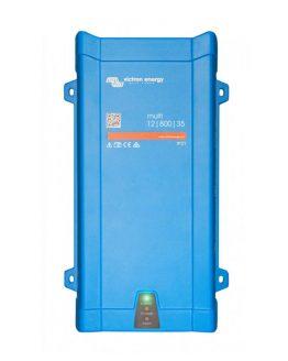 Menič napätia z 12V na 230V s funkciou záložného zdroja a nabíjačkou s príkonom 800VA